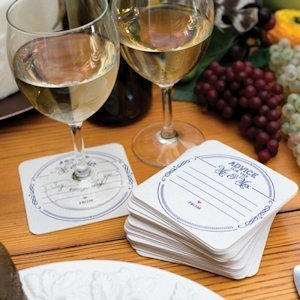 Advice for the Mr & Mrs Coasters (Set of 25) image