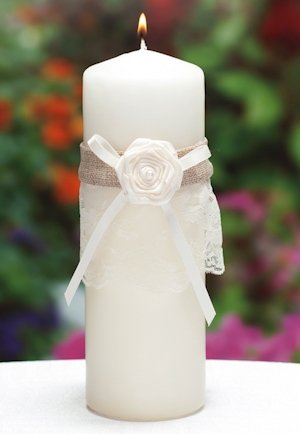 Rustic Country Unity Candle image
