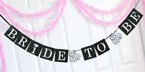 Bride-to-Be Banner image