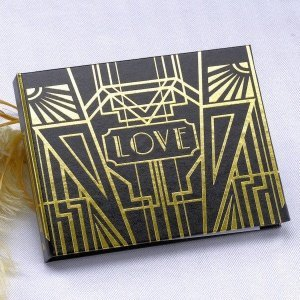Art Deco Guest Book (Gold or Silver) image