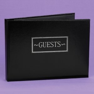 Small Guest Book (Black - Navy - Burgundy) image