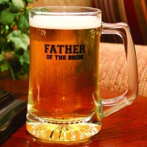 Personalized Father of the Bride Mug image