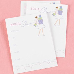 Bridal Shower Gifts Invitations (25 Pack) image