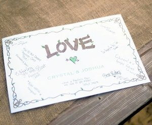 Personalized Rustic Love Signature Poster image