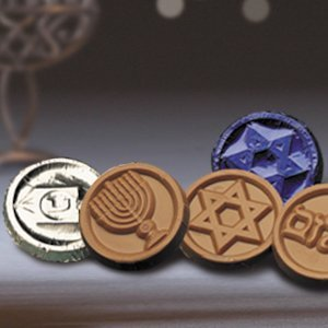 Hanukkah Coin Favors (Case of 250) image