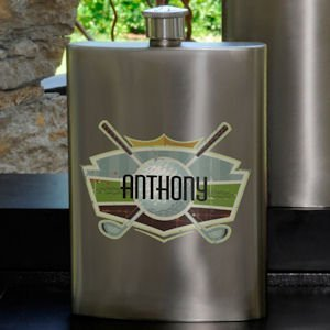 Golf Guys Party Flask image