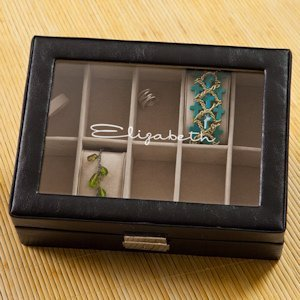Personalized Compartmentalized Jewelry Box image