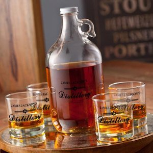 Personalized Distillery Growler Set image