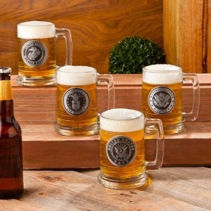 Personalized Military Emblem Beer Steins (4 Designs) image