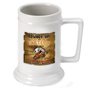 Personalized Saloon Beer Stein image