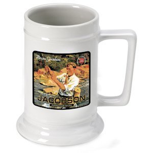 Personalized Fishing Guide Stein image