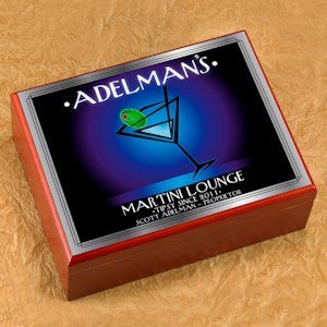 Personalized After Hours Cigar Humidor image