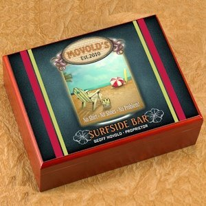 Personalized Surfside Cigar Humidor image