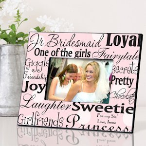 Personalized Junior Bridesmaid Frames - 7 Designs image