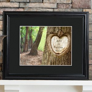 Tree of Love Personalized Framed Print image