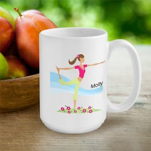 Personalized 'Go-Girl' Active Coffee Cup (Many Designs) image
