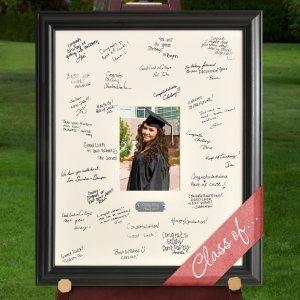 Personalized Graduation Party Signature Frame image