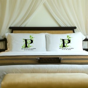 Couples Initial Pillow Case Sets (3 Designs) image