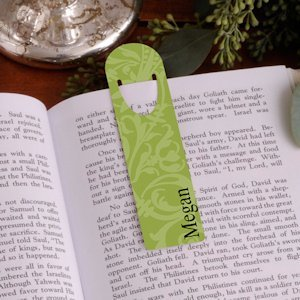 Personalized Floral Bookmarks - 6 Designs image