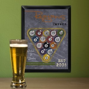 Chalkboard Style Sports Tavern Signs (6 Designs) image