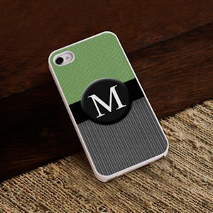 Personalized Menswear Tweed iPhone Case image