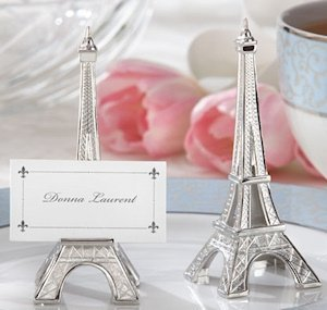 Eiffel Tower Place Card Holders (Set of 4) image