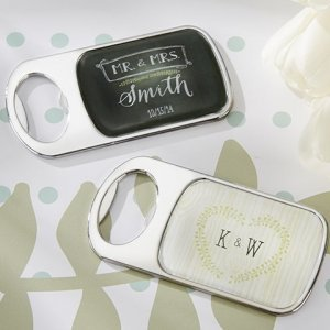Rustic Themed Personalized Bottle Openers image