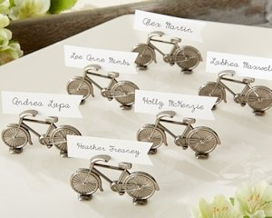 Vintage Bicycle Place Card or Photo Holders (Set of 6) image