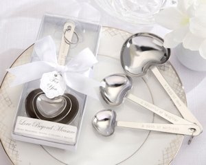 'Loving Spoonful' Heart-Shaped Measuring Spoons image