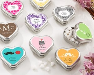 'Mint for You' Personalized Heart Shaped Mint Tins image