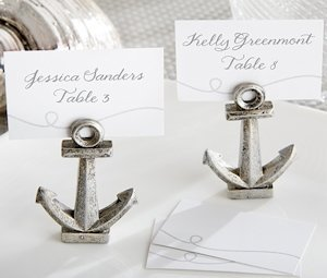 Nautical Anchor Place Card or Photo Holders (Set of 6) image
