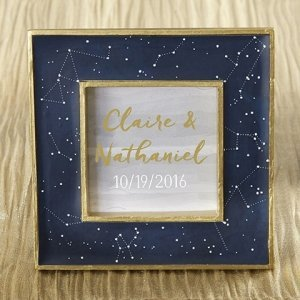 Under the Stars Constellation Place Card Frame image