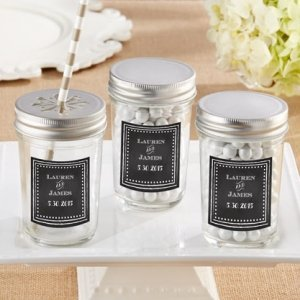 Personalized Chalk Design Mason Jar (Set of 12) image