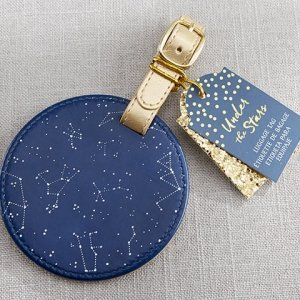 Under the Stars Constellation Luggage Tag image