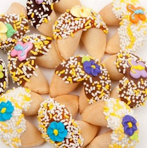 Spring Themed Gourmet Fortune Cookie Favors image