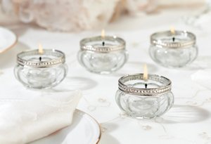 Dazzling Tealight Cups (Set of 4) image