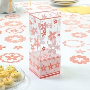 Coral Flower Centerpieces (Set of 6) image