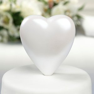 Solid Heart Cake Top image