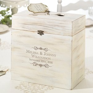 Personalized Wooden Key Card Box image
