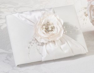 Chic & Shabby Wedding Guest Sign In Book image