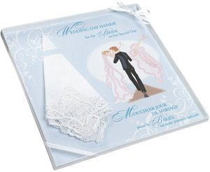 Embroidered Bride Gift Hankie image