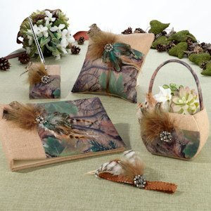 Camo Wedding Accessory Collection image