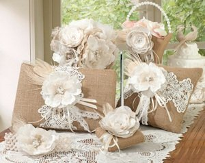 Burlap and Lace Collection image