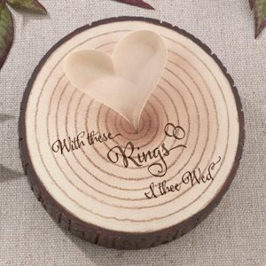 I Thee Wed Tree Ring Holder image