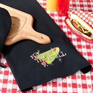 King of The Grill Towel image