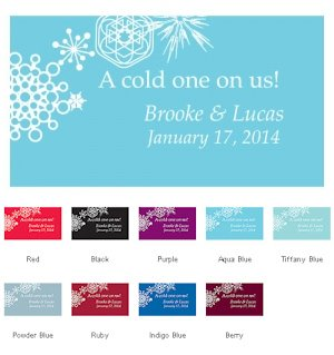 Winter Finery Small Drink Tickets (Set of 120) image