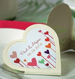 Hearts Within a Heart Shaped Sticker (4 Colors) image