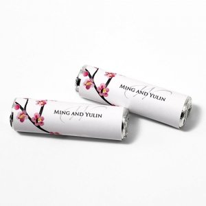 Cherry Blossom Candy Roll Wrap (Set of 24) image