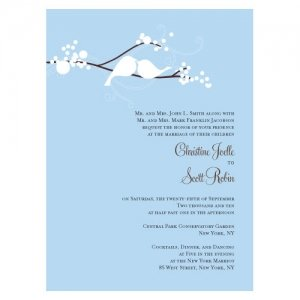 Love Birds Stationery Sample (4 Colors) image
