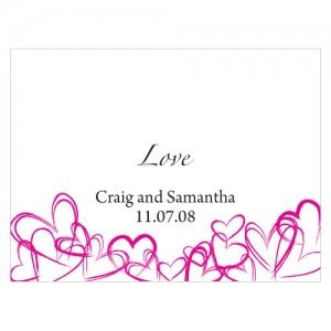 Contempo Hearts Blank Note Cards (Set of 6) image